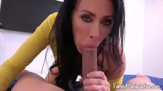 my step mom shows me how to fuck