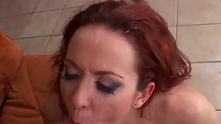 MomsWithBoys - Fiery Redhead MILF Having Her Anal Fucked By Young Cock