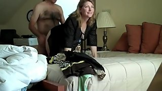 Horny and sexy wife likes to be good fucked by her boss