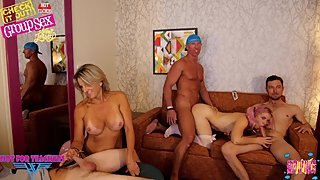 New Jersey - Group Orgy With Teachers (Maintenance Man)