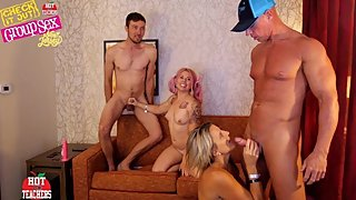New Jersey - Group Orgy With Teachers (Pussy Cream Pie)