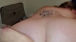 Hot BBW getting doggy fucked