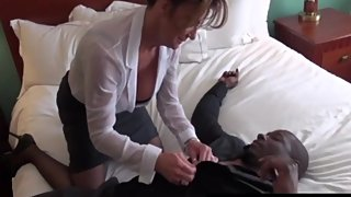 Big Titty Mommy Deauxma Gets Pussy Pounded By Big Black Dick [HD]