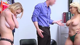 Mom And Her Shoplifting Teen Wanted Fun And Got Banged [HD]
