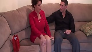Rachel Steele MILF714 - Real Taboo Mom and Stepson! Red Milf Part 1