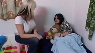 Lesbian Babes From The Netherlands Love Real Pussy Time