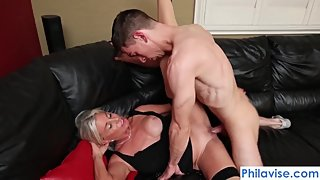 PHILAVISE-Oops, I pied my stepmom with Payton Hall