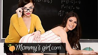My Stepmom is also My Teacher & I'm a Hot Virgin 4 Her