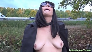 Selfie Cum Walk at the Highway