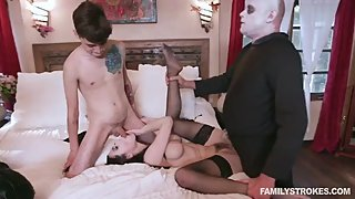 Addams Step Family Orgy Full