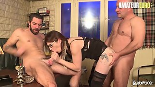 AmateurEuro - Busty Amateur French Wife Shared With The Counselor