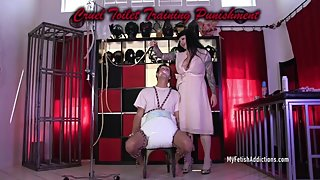 Cruel Toilet Training Punishment Trailer