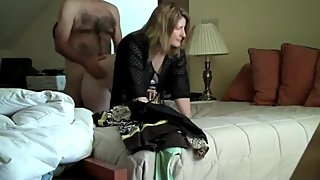 Cheating wife gets hard fucked by her new boss on vacation