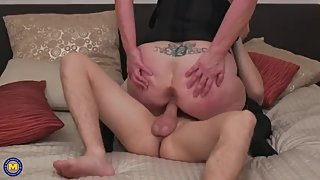 busty mom and stepson taboos fucking
