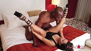 Krystal Davis Fucks Will Tile and Swallows all his Cum
