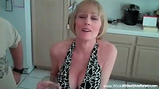 Oral Sex Blowing Cock From Horny Amateur Granny MILF