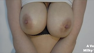 Big tits having an oily massage
