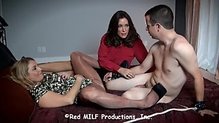 Rachel Steele CustomDavidM02 - Mom and Aunt share StepSon. Pantyhose MILFs!