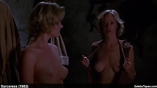 Celebrity Lynette & Leigh Harris nude topless and sexy video
