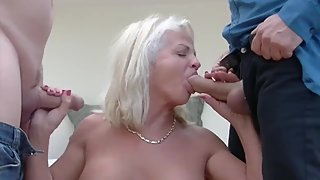 Granny Loves Cocks In All Her Holes