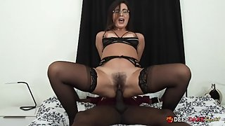 MDDS Hot PAWG Helena Price Creampied by Black Lover
