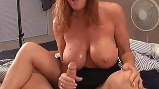 Rachel Steele MILF14 - Mom visits stepson before he goes to bed