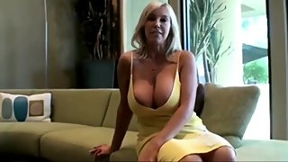 Busty and sexy stepmom gets her pussy filled up with cum by her stepson