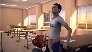 The Twist Xtreme story 3d Rebecca the classroom 1