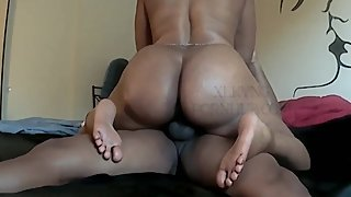 Horny Wife Riding Husband In the Morning