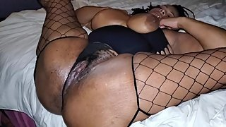 bootyqueen fucking the camera man she hungry for the black dick