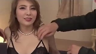 Rion Ichijo sucks hard in POV then fucks with two - More at javhd net