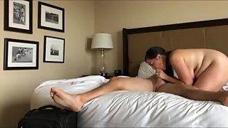 Cheating wife having a real orgasm with her new boss