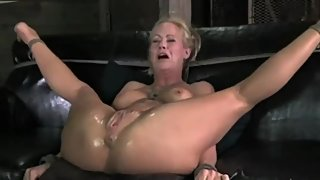 MILF Fucked To Tears Crying in Pain Until Made to Squirt by AssholePunisher
