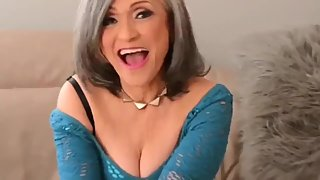 Sexy and horny mature stepmom still likes hot sex with her stepson
