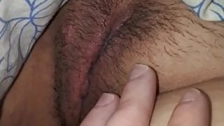 young stepmom's pussy closeup