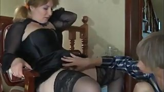 Horny american stepmom gets rough fucked by her real stepson