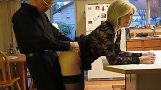 Taboo! Stepson with very big cock fucks his mature stepmom in the ass
