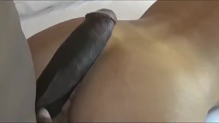 Slutty busty wife cheating on husband with her first BBC