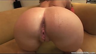 Big Ass Redhead Fucks BBC Hard with Rough Cowgirl Style