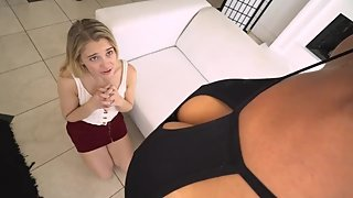 Bratty Anatasia Knight gets taught a lesson by her MILF Step Mom